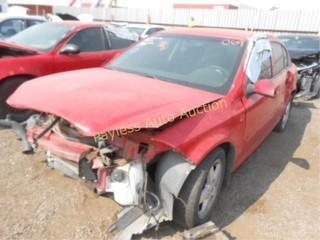 2010 Chevrolet Cobalt 1G1AF5F52A7185110 Red