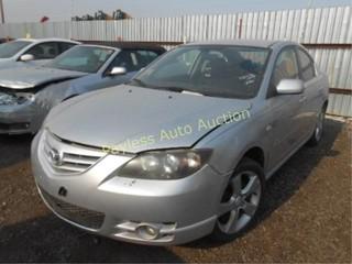 2005 Mazda Mazda3 JM1BK323651259430 Silver
