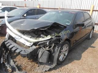 2011 Ford Fusion 3FAHP0JA5BR247125 Black