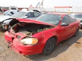 2003 Pontiac Grand Am 1G2NF52F33C202647 Red