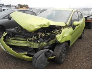 2011 Ford Fiesta 3FADP4BJ7BM167925 Green