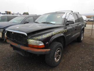 1998 Dodge Durango 1B4HS28Y8WF100238 Black