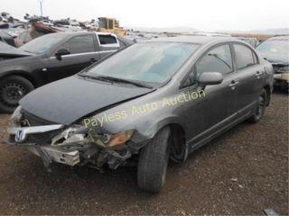 2011 Honda Civic 2HGFA1F57BH307990 Gray