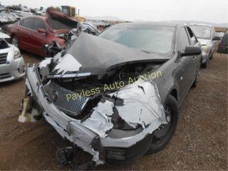 2007 Cadillac STS 1G6DW677270134625 Black