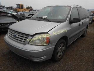 2005 Ford Freestar 2FMZA51645BA72812 Silver
