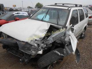 2004 Nissan Pathfinder JN8DR09X54W802364 White