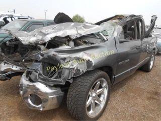 2004 Dodge Ram 1D7HA18D04J211864 Black