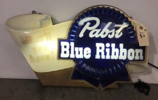 Pabst Blue Ribbon Light Up Sign