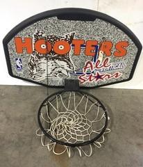Hooters Basketball Net w/ Back Board