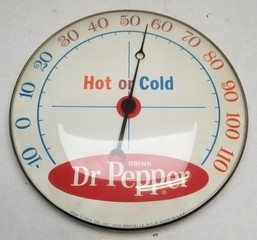 NOS Drink Dr. Pepper Thermometer