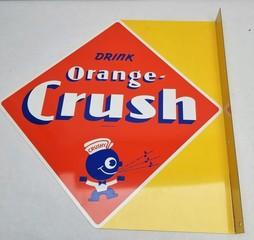 2008 Licensed Issue Orange Crush Flange Sign