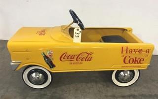 New Coca Cola Pedal Car