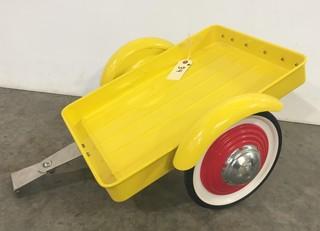 New Coca Cola Pedal Car trailer