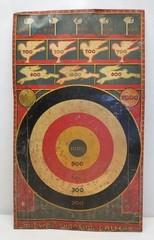 Vintage Marx Midway Shooting Gallery Target (Tin)
