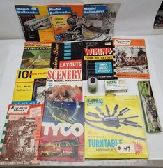 Model Train Magazines, Atlas HO Turntable and more