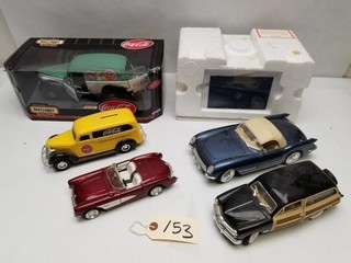 (6) Diecast Collectible Cars
