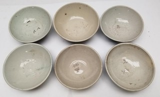 "(6) ""Double Happiness"" Chinese Rice Bowls"