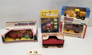 (5) ERTL Miniature Tractors in Original Packages