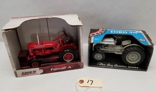 ERTL Farmall A and Ford 9N Tractors