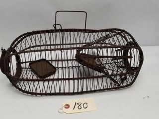 Early Unmarked Rodent /Animal Trap