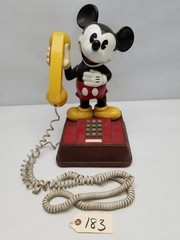 "Vintage ATC ""Mickey Mouse"" Push Button Telephone"