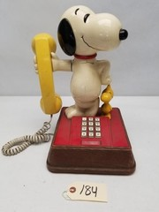 "Vintage ATC ""Snoopy"" Push Button Telephone"