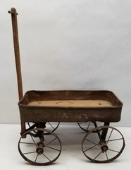 Early Daisy Child's Toy Wagon
