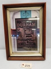 Durham Smoking Tobacco Advertising