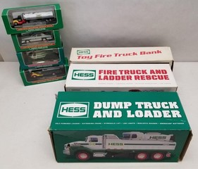 (7) Assorted Hess Vehicles in Original Boxes