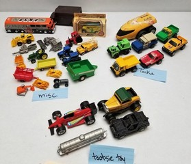 Assorted Tonka, Tootsie Toy and misc. Toys