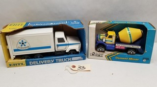 ERTL Delivery Truck and Cement Mixer