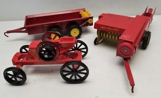 (3) ERTL New Holland Farm Implements