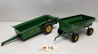 (2) ERTL John Deere Farm Implements