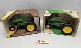 ERTL John Deere Model A and Model G Tractors