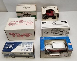 (6) Assorted Diecast Vehicles in Original Boxes