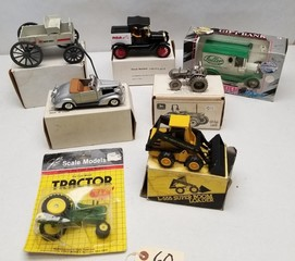 (7) Assorted Diecast Vehicles in Original Boxes