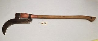 Primitive Long Handle Weed Cutter Tool