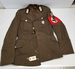 Vintage WWII German Officer Coat
