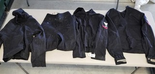 (3) U.S. Navy Jumper Coats & Pants