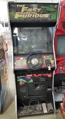 Universal Fast & Furious Drift Arcade Machine