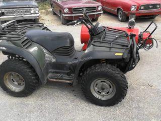 2000 Bombardier Traxter 4X4 500 ATV