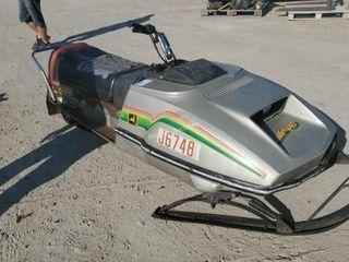 John Deere TrailFire 440 Snowmobile