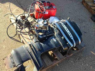 Mercury 50HP O/B w/ Throttle controls