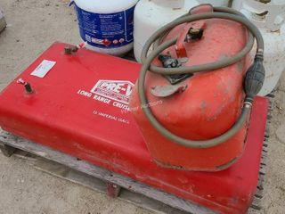 (2) Boat Fuel Tanks, 1 is Long Range