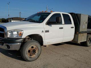 2007 Dodge Ram 3500 Flatbed