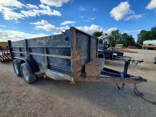 2014 Sure Trac 12-FT Hyd. Dump Trailer T/A