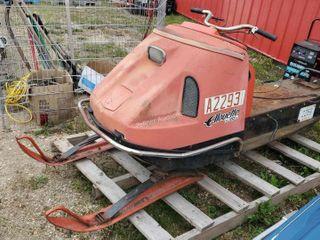 1970 Allouette XL20E 870-103 293cc Snowmobile