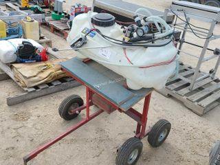 Tow Behind ATV Sprayer