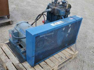 Air Compressor 21Hp Motor & Pump