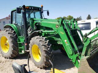2014 John Deere 6150M H360 Loader, 3pt FWA Tractor